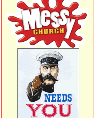 messy church needs you