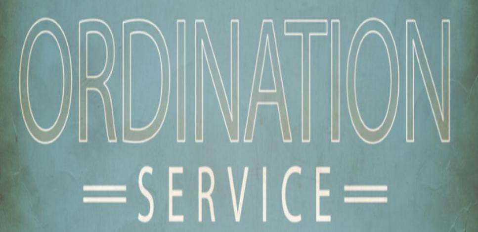 ordination image
